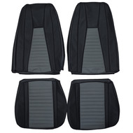 1971-1973 MUSTANG MACH 1 Custom Real Leather Seat Covers (Front)