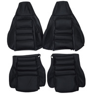 1986-1991 Mazda RX-7 FC3S 10th Anniversary Custom Real Leather Seat Covers (Front)