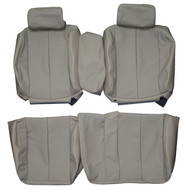1993-1996 Cadillac Fleetwood Brougham Custom Real Leather Seat Covers (Front)