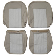 2004-2007 Mercury Monterey Premier Custom Real Leather Seat Covers (Front)