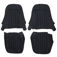 1956-1959 Austin Healey 100-6 BN6 Custom Real Leather Seat Covers (Front)
