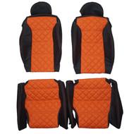 2004-2014 Lamborghini Gallardo Custom Real Leather Seat Covers (Front)