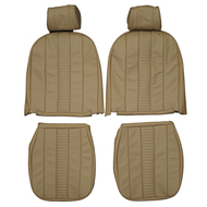 1970-1980 MG Midget Custom Real Leather Seat Covers (Front)