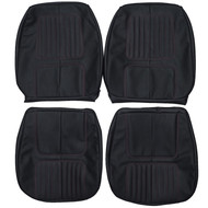 1970 Chevrolet Camaro Custom Real Leather Seat Covers (Front)