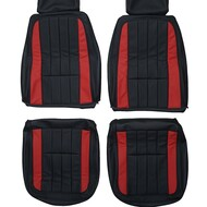 1969 Chevrolet Corvette C3 Custom Real Leather Seat Covers (Front)