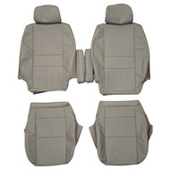 2001-2007 Toyota Sequoia Custom Real Leather Seat Covers (Front)