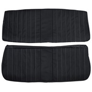 1981-1987 Chevrolet C10 Pickup Truck Custom Real Leather Seat Covers (Front)