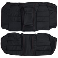 2004-2008 Acura TL Type-S Custom Real Leather Seat Covers (Rear)