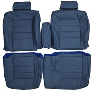 1994-1996 Cadillac Deville Custom Real Leather Seat Covers (Front)