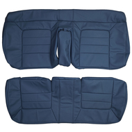 1994-1996 Cadillac Deville Custom Real Leather Seat Covers (Rear)