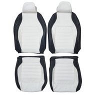 2011-2017 Volkswagen Jetta GLI Custom Real Leather Seat Covers (Front)