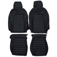 2008-2017 Volkswagen Passat CC Custom Real Leather Seat Covers (Front)