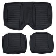 1971-1975 Pontiac Firebird Trans Am Custom Real Leather Seat Covers (Rear)
