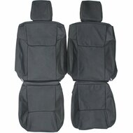 2006-2010 Jeep Commander Custom Real Leather Seat Covers (Front)