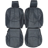 2007-2013 Mazda Mazda6 Custom Real Leather Seat Covers (Front)