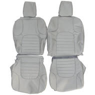 2005-2012 Nissan Pathfinder Custom Real Leather Seat Covers (Front)