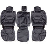 2005-2012 Nissan Pathfinder Custom Real Leather Seat Covers (Rear)