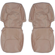 2004-2010 Toyota Sienna Custom Real Leather Seat Covers (Front)
