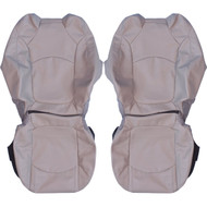 2009-2014 Chevrolet Traverse Custom Real Leather Seat Covers (Front)