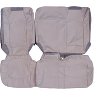 2009-2014 Chevrolet Traverse Custom Real Leather Seat Covers (3Rd Row)