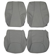 1999-2005 Mercedes S-Class Custom Real Leather Seat Covers (Front)