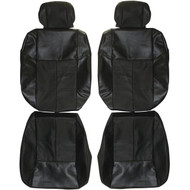 2000-2005 Saturn L-Series Custom Real Leather Seat Covers (Front)