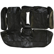 2000-2005 Saturn L-Series Custom Real Leather Seat Covers (Rear)