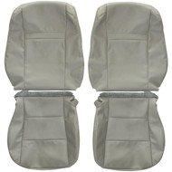 2012-2015 Toyota Camry Custom Real Leather Seat Covers (Front)