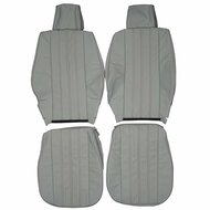 1984-1992 BMW E30 Sedan Custom Real Leather Seat Covers (Front)
