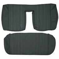 1984-1992 BMW E30 Sedan Custom Real Leather Seat Covers (Rear)