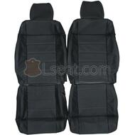 2007-2012 Jeep Wrangler JK Custom Real Leather Seat Covers (Front)