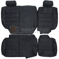 2007-2012 Jeep Wrangler JK Custom Real Leather Seat Covers (Rear)