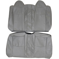 2007-2010 Chrysler Sebring Custom Real Leather Seat Covers (Rear)