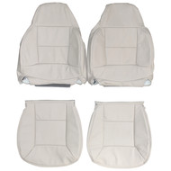 1989-1998 Land Rover Discovery Custom Real Leather Seat Covers (Front)