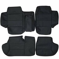 1989-1998 Land Rover Discovery Custom Real Leather Seat Covers (Rear)
