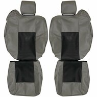 2003-2007 Cadillac CTS Custom Real Leather Seat Covers (Front)