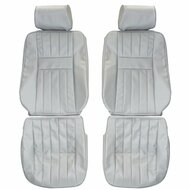 1997-2002 Range Rover Custom Real Leather Seat Covers (Front)