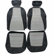 1994-2004 Ford Mustang Custom Real Leather Seat Covers (Front)