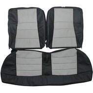 1994-2004 Ford Mustang Custom Real Leather Seat Covers (Rear)