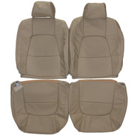 1995-2000 Lexus LS400 Custom Real Leather Seat Covers (Front)