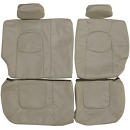 2006-2011 Chevrolet HHR Custom Real Leather Seat Covers (Rear)