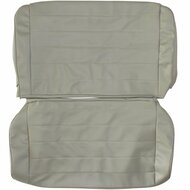 1987-1995 Jeep Wrangler YJ Custom Real Leather Seat Covers (Rear)