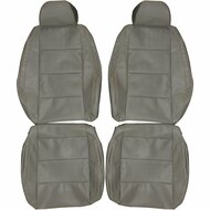 2006-2010 Volkswagen Jetta Custom Real Leather Seat Covers (Front)