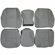2006-2009 Dodge Ram 2500 Custom Real Leather Seat Covers (Front)