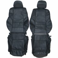 1998-2004 BMW E46 Coupe Sedan Sport Custom Real Leather Seat Covers (Front)