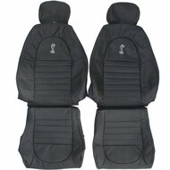2001 Ford Mustang SVT Cobra Custom Real Leather Seat Covers (Front)