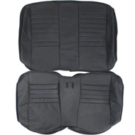 2001 Ford Mustang SVT Cobra Custom Real Leather Seat Covers (Rear)