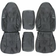 1998-2003 Dodge Durango Custom Real Leather Seat Covers (Front)
