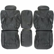 1998-2003 Dodge Durango Custom Real Leather Seat Covers (Rear)