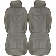 1999-2005 Volkswagen Jetta Custom Real Leather Seat Covers (Front)